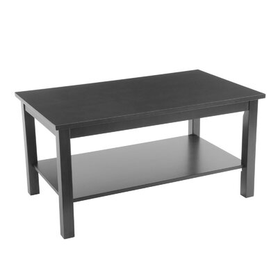 Bay Shore Coffee Table Color: Black