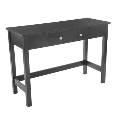 Bay Shore Console Table Finish: Black
