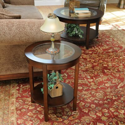 Easy financing Bay Shore End Table Finish: Espress...