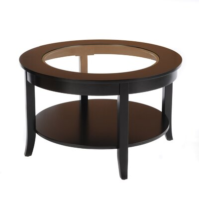 Nataliya Coffee Table Color: Black
