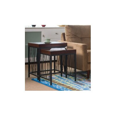 Wire Design 2 Piece Nesting Tables