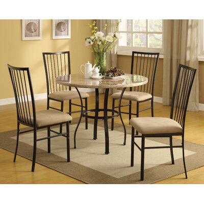 Bad credit financing Darell 5 Piece Dining Set...