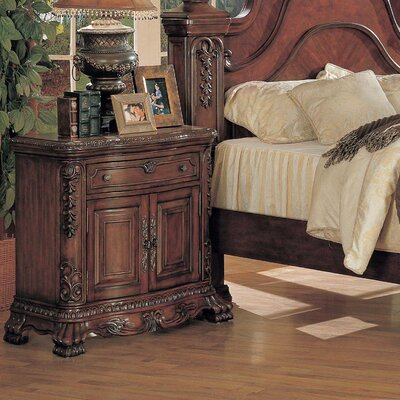Alcrossagh 1 Drawer Nightstand