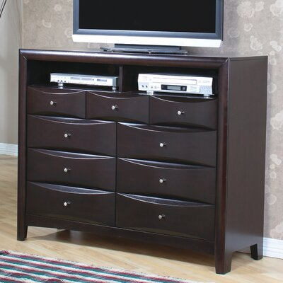 In store financing Applewood 9 Drawer Media Chest...