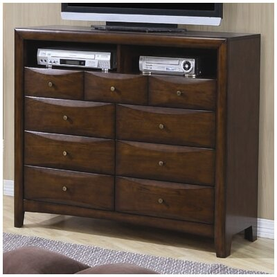 Credit for Hillary 9 Drawer TV Dresser...