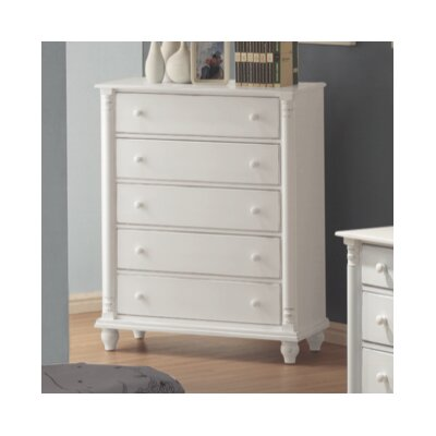 Lease to own Kayla 5 Drawer Chest...