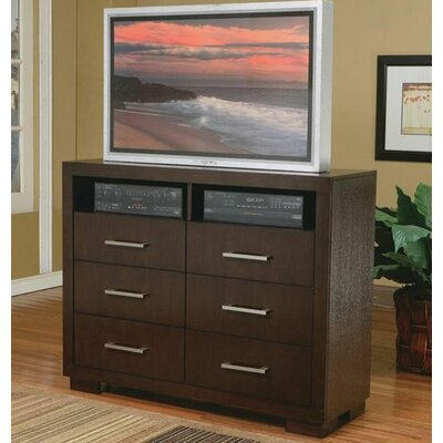 Furniture rental Jessica 6 Drawer Media Chest...