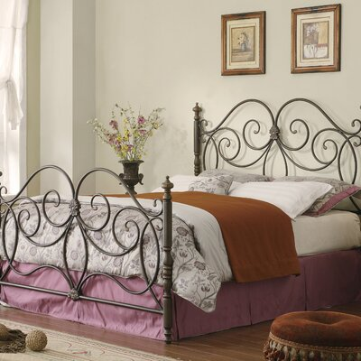 Credit for Sconset Metal Bed...