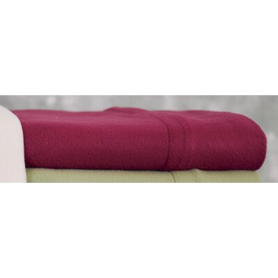 Wildon Home Winter Nights Fleece Sheet Set - Color: Red, Size: Queen at Sears.com
