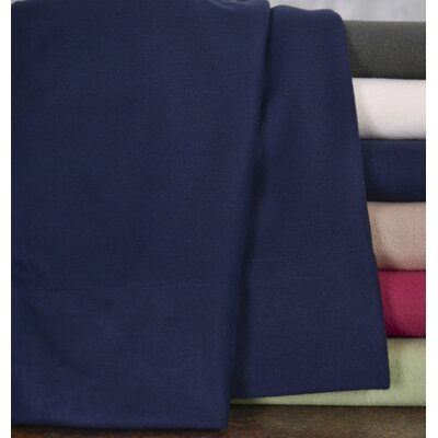 Wildon Home Winter Nights Fleece Sheet Set - Color: Navy, Size: King at Sears.com