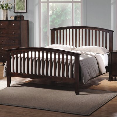 Furniture leasing Double Oak Queen Slat Bedroom Colle...