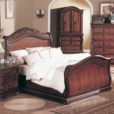 Buy Low Price Wildon Home Florence Sleigh Bedroom Collection ...