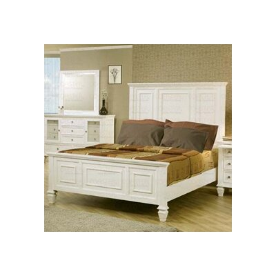 Easy financing Glenmore Panel Bedroom Collection...