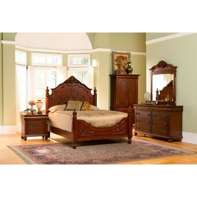 Wildon Home Isabella Panel Bedroom Collection - Size: King at Sears.com