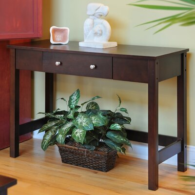 Bay Shore Console Table Finish: Espresso