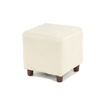 Cube Ottoman Upholstery: Taupe