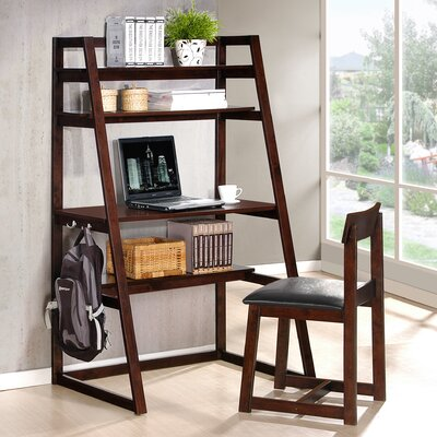 Ladder Desk and Chair Set 7664