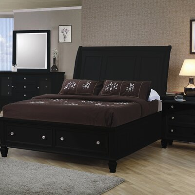 Ridgewood Platform Bed Size: California King