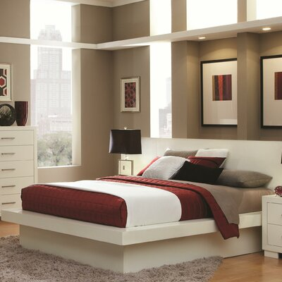 Easy financing Bay Platform Bed Size: Queen...