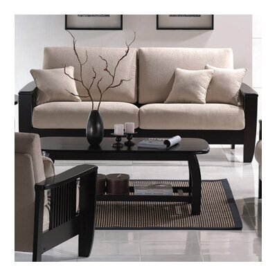 Wildon Home Mission Style Sofa - Color: Java and Cream at Sears.com