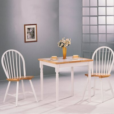 Wildon Home Morrison Square Dining Table (Set of 4)