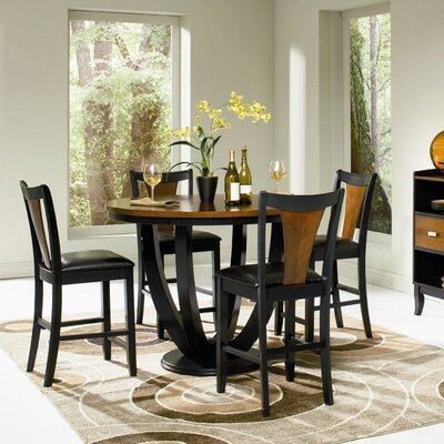 Sarris Round Counter Height Dining Table