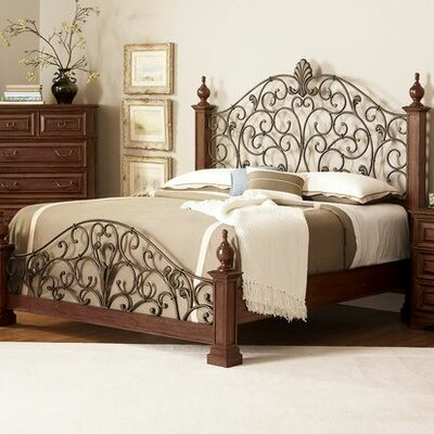 Lease to own State Poster Bed Size: Queen...