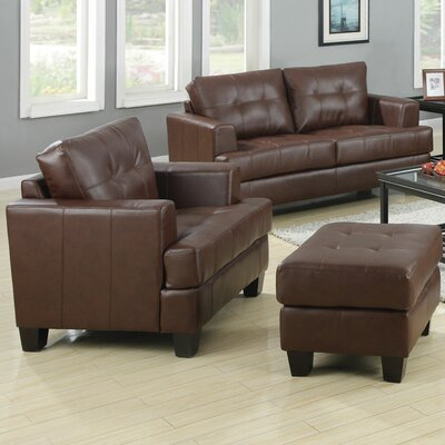 Wellhead Leather Living Room Set