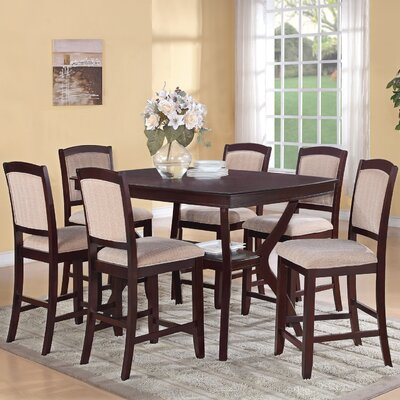 Easy financing Dallas Counter Height Dining Table...