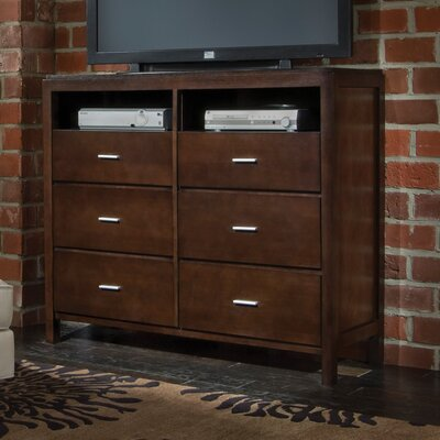 Furniture rental Monroe 6 Drawer Media Chest...
