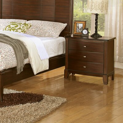 Furniture rental Audrey 3 Drawer Nightstand...