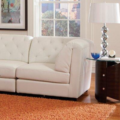 Morris Storage Ottoman Upholstery: White