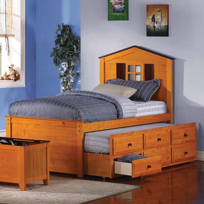 Lease to own Kingston Twin Storage Bed...