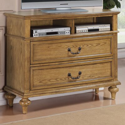 Wildon Home Virginia 2 Drawer Media Chest - Finish: Light Oak at Sears.com