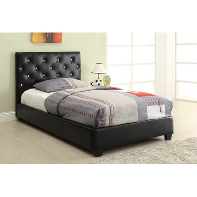 Mary Upholstered Panel Bed Size: Twin