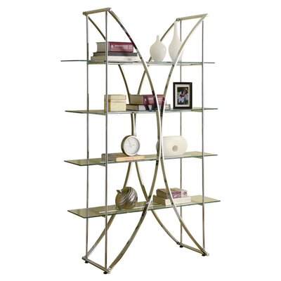 Staple Hill 72'' Shelf Bookcase Product Photo 3