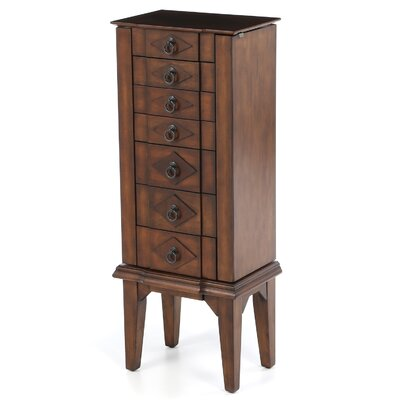 Canen Jewelry Armoire with Mirror