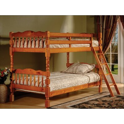Alexandro Twin Bunk Bed Finish: Oak