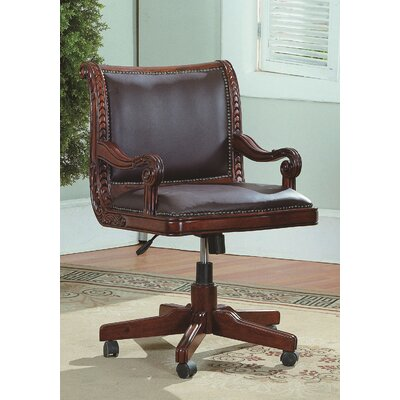 Angelina Mid-Back Leather Executive Office Chair Product Picture 168