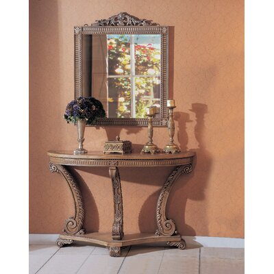 Ovid Console Table with Mirror