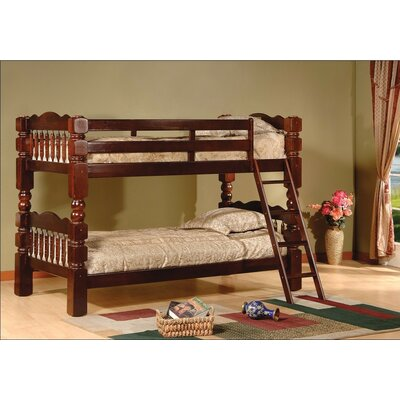 Trystan Twin Bunk Bed Finish: Cherry