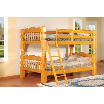 Twin Bunk Bed Finish: Oak