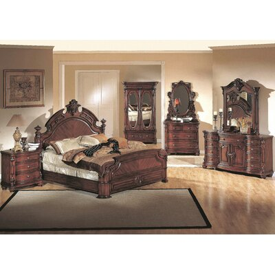 Albany Panel Customizable Bedroom Set