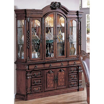 Arthur Lighted China Cabinet