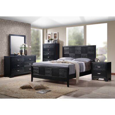 Dravo Panel Customizable Bedroom Set