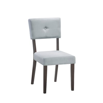 Cowell Side Chair (Set of 2) Side Chair Upholstery: Grey