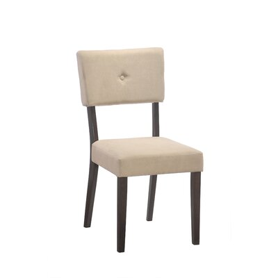 Cowell Side Chair (Set of 2) Side Chair Upholstery: Mocha