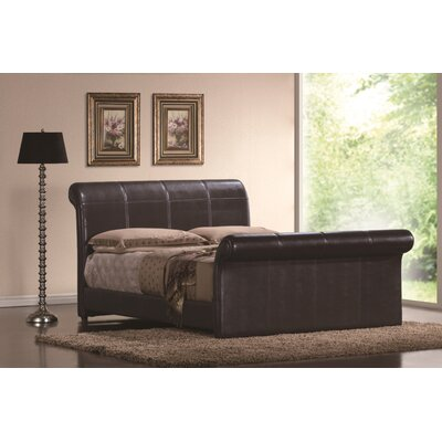 Otego Upholstered Sleigh Bed Size: King