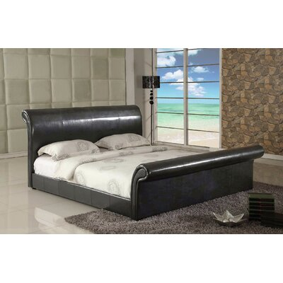 Montgomery Upholstered Sleigh Bed Size: King