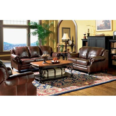 Harvard Leather Configurable Living Room Set